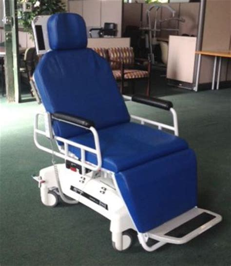 used transmotion tmm5 surgical stretcher chair stretcher