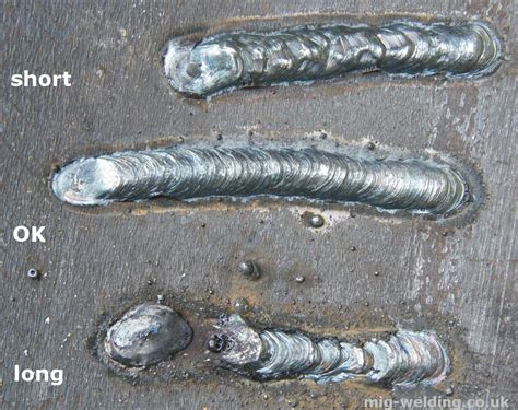 Arc Welding Faults  Examples Of Speed, Arc Length, And
