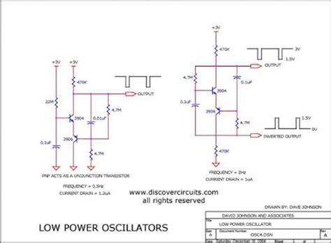 Low Power Oscillators Oscillator Circuit Signal