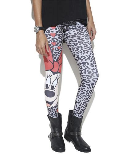 Minnie Mouse Printed Legging | Shop Character at Wet Seal | Fashion | Pinterest | Disney ...