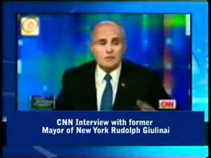 CNN Interview with former New York Mayor Rudolph Giuliani ...