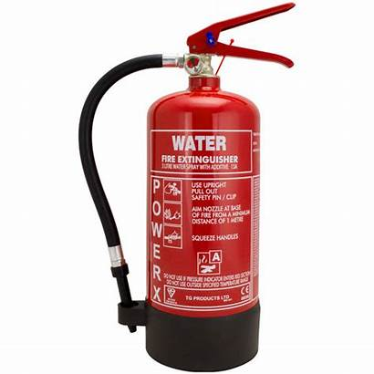 Fire Extinguisher Types Water Different Class