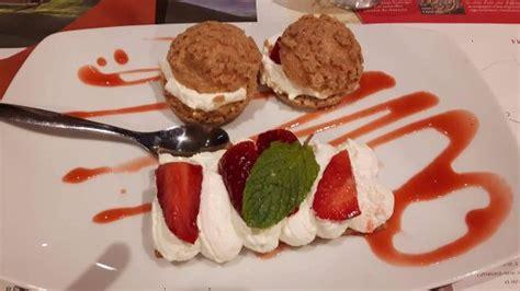 dessert aux fraises picture of arte clermont ferrand tripadvisor