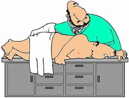 Exam Proctologist Cartoon Clipart Rectal Colon Doctor