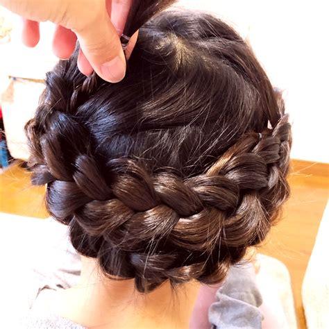 子供 髪型 アップ 簡単