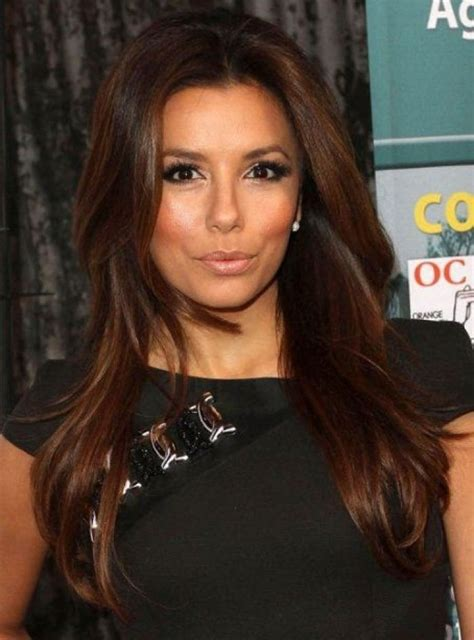 Brown And Black Hair Color by Rich Brown Hair Longoria Hair Styles I