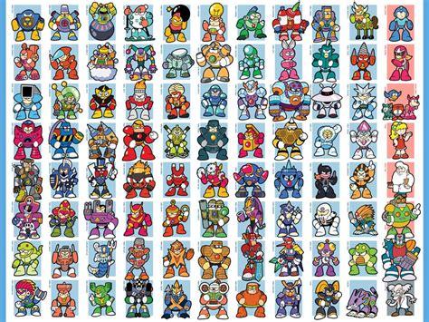 Megaman 1 Nes Bosses Enemies Misc Weapons Tilesets Megaman