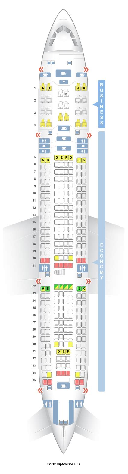 airbus a340 300 stoelindeling seatguru seat map turkish airlines airbus a330 200 332 v1