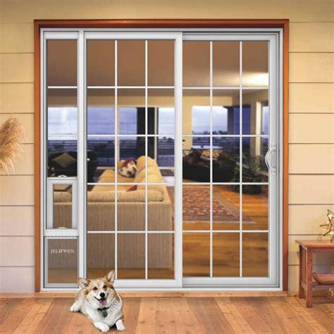 diy patio pet door patio door with built in door they design doors