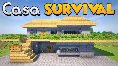 come costruire una casa per il survival su minecraft