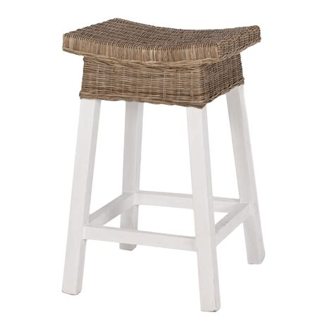 How To Make A Kitchen Bench by White Wood Bar Stools Homesfeed