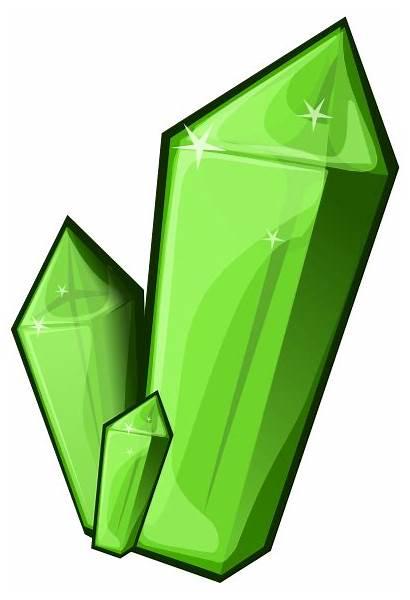 Crystal Clipart Emerald Crystals Clip Quartz Vector