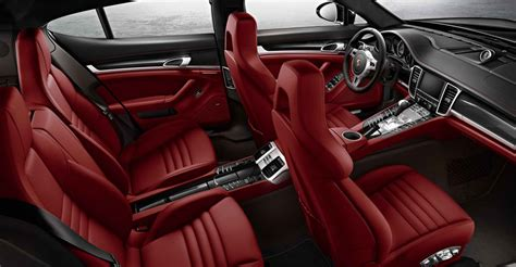 porsche panamera red interior 2014 porsche panamera review specs pictures price
