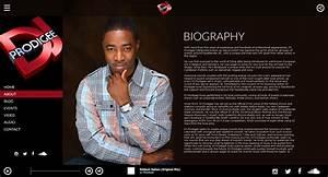 electronic press kit dj prodigee lucki media With dj biography template