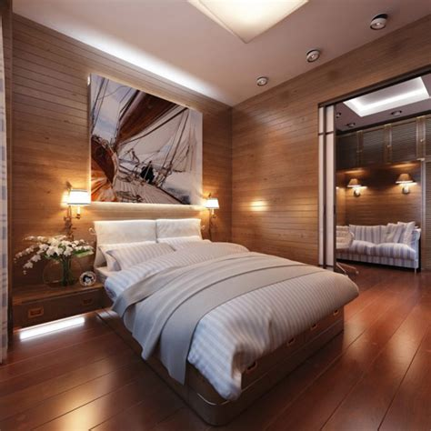 Cozy, Modern And Practical Bedroom With A Travelinspired