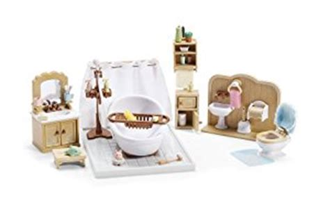 calico critters bathroom set calico critters deluxe bathroom set toys