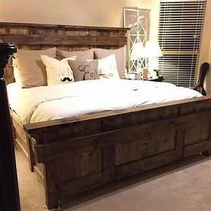 17 best ideas about king bed frame on pinterest diy king With best bed size for couples
