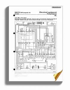 Lancia Delta G93 Wiring Diagrams Eng