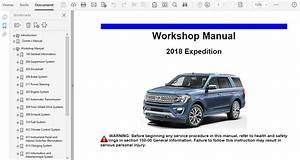 2018 Ford Expedition Repair Manual