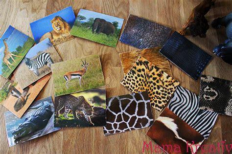 spiele selber machen assoziationsspiel afrikanische tiere mama kreativ