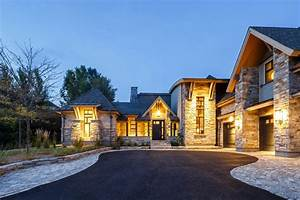 West Coast Style Designs Rustic Contemporary Mountain Style Home With Innovative