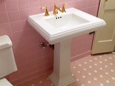 how to install a pedestal sink pedestal sink installation how tos diy
