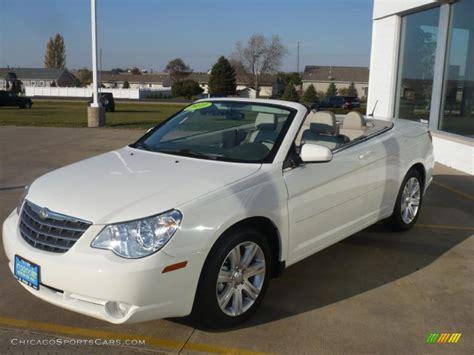 2010 Chrysler Sebring Convertible For Sale by 2010 Chrysler Sebring Touring Convertible In White