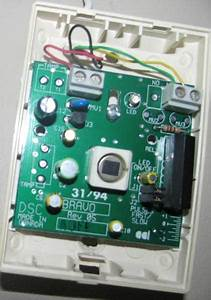 Dsc Pc 2550 Shut Off While Tinkering With Motion Sensor