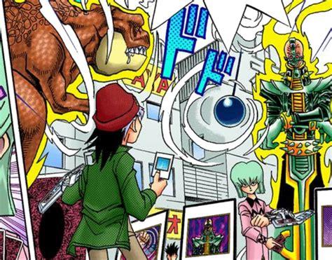 dinosaur ryuzaki  esper robas duel manga yu gi