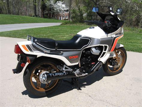 1982 Honda Cx500 Turbo Photos, Informations, Articles