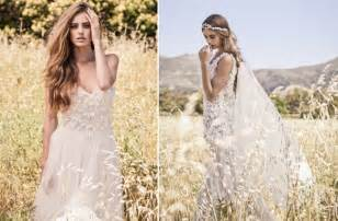 bohemian bridesmaid dresses bo and luca bohemian chic wedding dresses onewed
