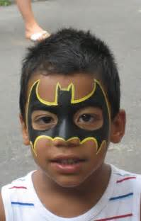 Superhero Face Painting Designs for Kids