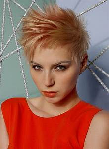 Short Spiky Haircuts and Hairstyles for Women 2017 Very short asymmetrical, with bangs