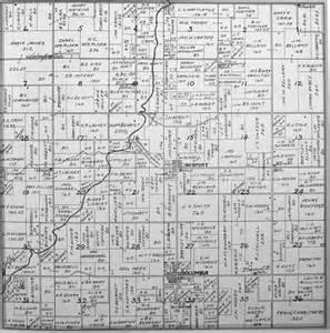 Washington County Iowa Township Map