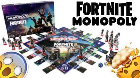 fortnite monopoly board game youtube