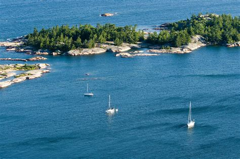 cruising  north channel lake superior boating list