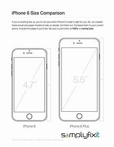 Best Photos of Print Template Cut Out IPhone 6 Plus ...