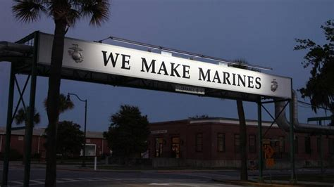 parris island recruits testify  sergeants article