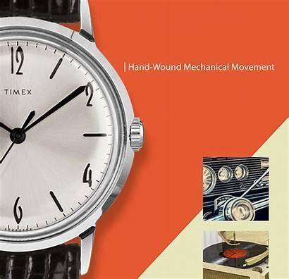 Timex Marlin Mechanical Reissue Pleasure Ad Movement