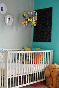 Déco Chambre Bleu Canard : 1001 id es pour une chambre b b en bleu canard des ~ Melissatoandfro.com Idées de Décoration