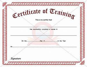 Certificate Template Category Page 25