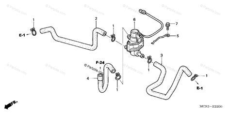 Honda Motorcycle Oem Parts Diagram For Air Injection