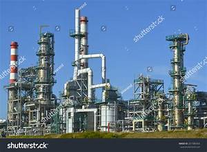 Oil Refinery Europe Polluting Energy Stock Photo 201580364 ...