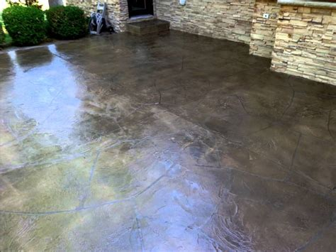patio concrete resurfacing flagstone texture ft wayne