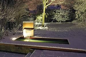 Gartenbrunnen Aus Cortenstahl : cortenstahl wasserfall mit wasserbecken gartenbrunnen ~ Sanjose-hotels-ca.com Haus und Dekorationen