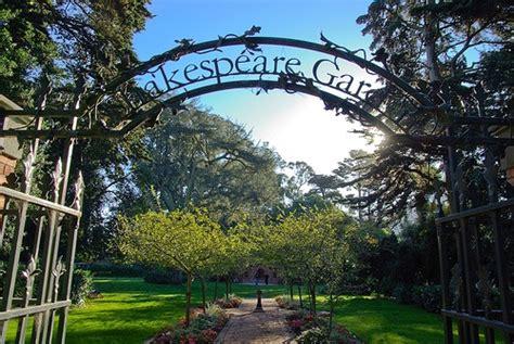 the shakespeare garden san francisco localwiki