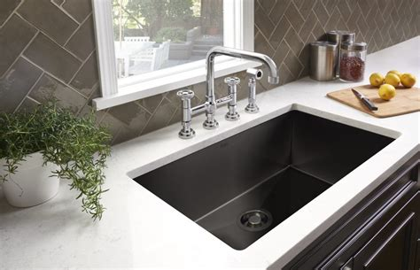 black stainless kitchen sinks  residential pros