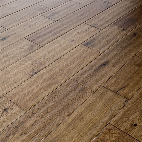 Abbey Kells 125mm Golden Hand Scraped Oak Solid Wood