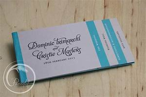 multi layered booklet wedding invitation pocadot invitations With booklet wedding invitations australia