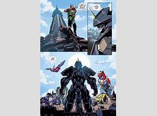 The Power Rangers Zords VS The Black Dragon Comicnewbies